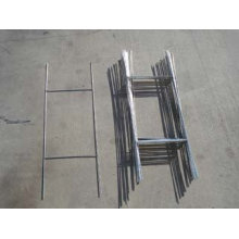 Welded Galvanized H Frames 10X30′ Wire Step Stakes